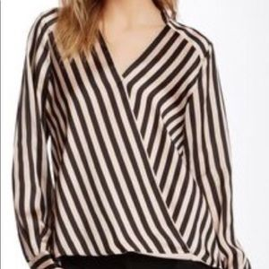 Vince Camuto Striped Blouse